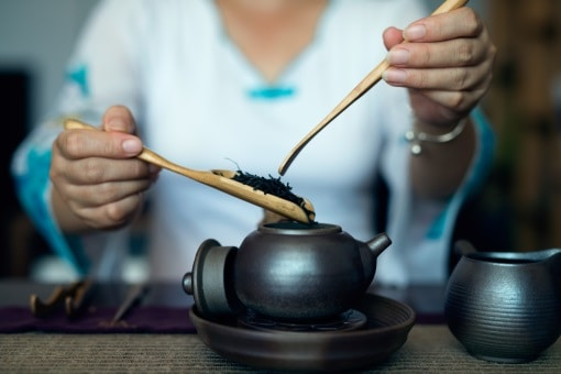 kinesisk sort te kande