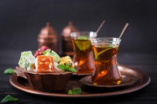 tyrkisk te tyrkisk delight