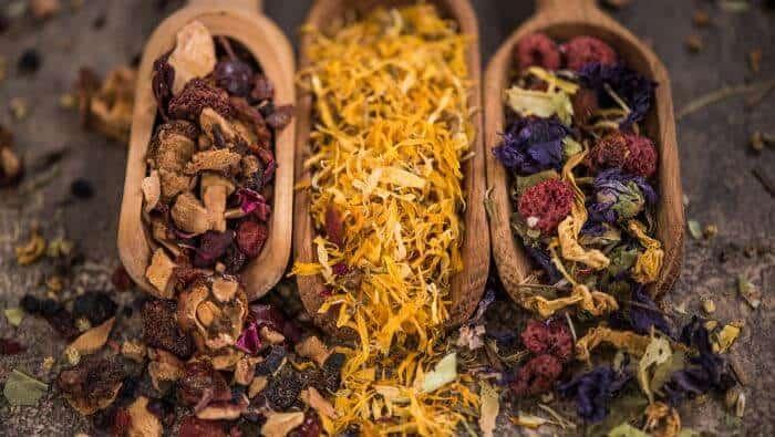 loesse urter te droger, guide, lægedrik, te, tisanes, urte, urter, urtete