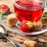 Jordbær te